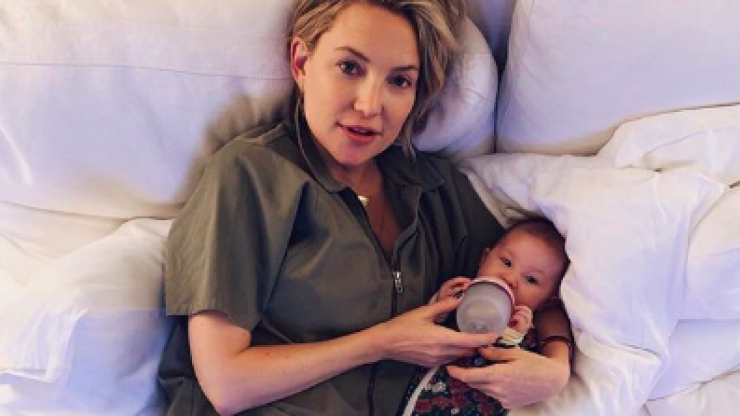 Kate Hudson explains what she means by the term 'genderless' parenting