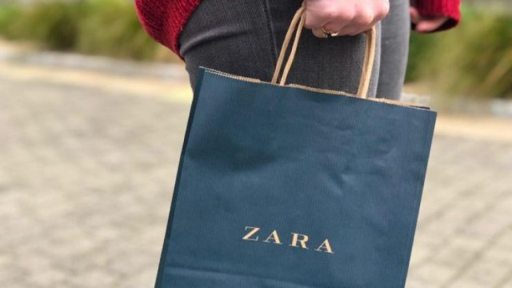 Say hello to the perfect Christmas Day dress, and it's just €40 from Zara