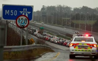 Breaking: Chaos on roads as M50 CLOSES in both directions