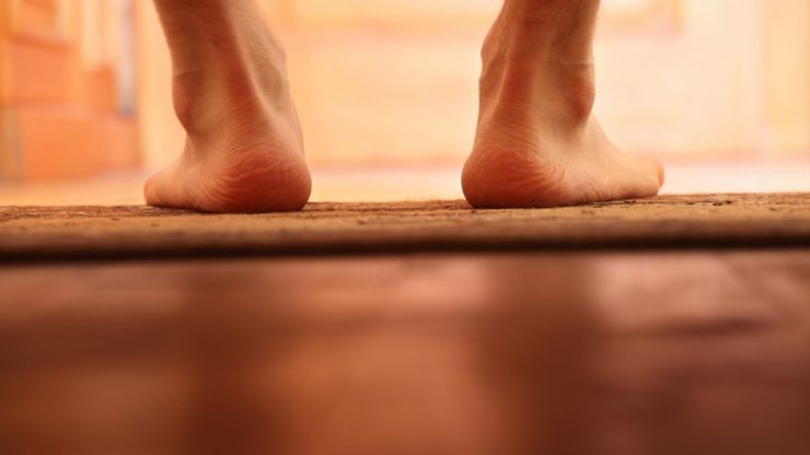 Grab your slippers - going around the house barefoot is actually a pretty bad idea