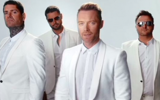 You can get Boyzone themed food delivered to your gaff tomorrow