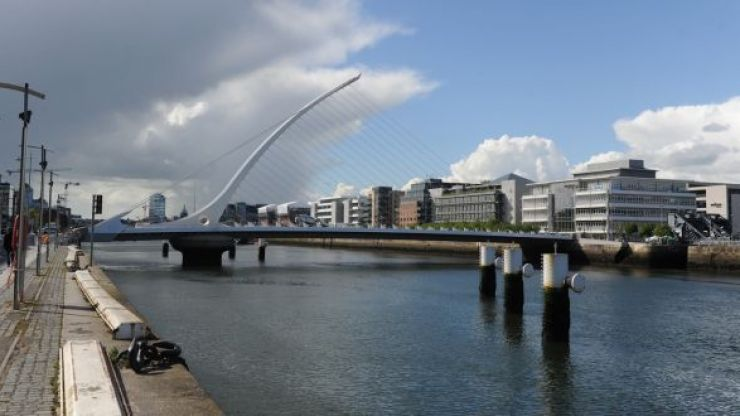 You will soon be able to get a taxi boat along the River Liffey