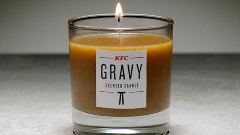 KFC gravy candles exist and we couldn't think of anything worse