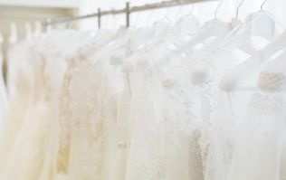 The wedding dress trend you're going to see at a LOT of summer weddings next year