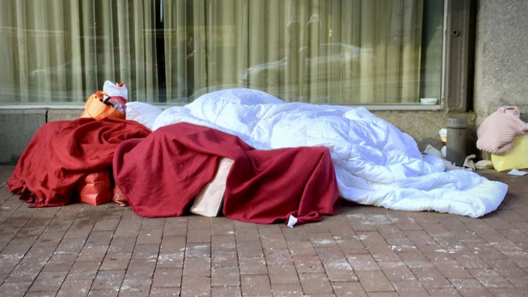 Extra beds available for rough sleepers during status yellow weather warning