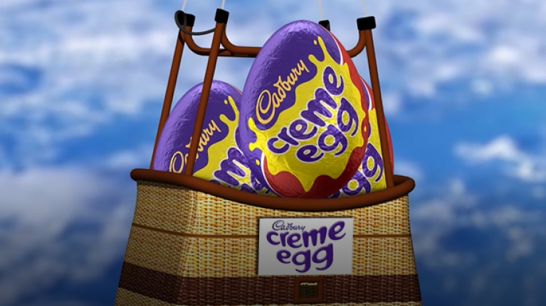 WIN €2000 at this AMAZING Cadbury Creme Egg event