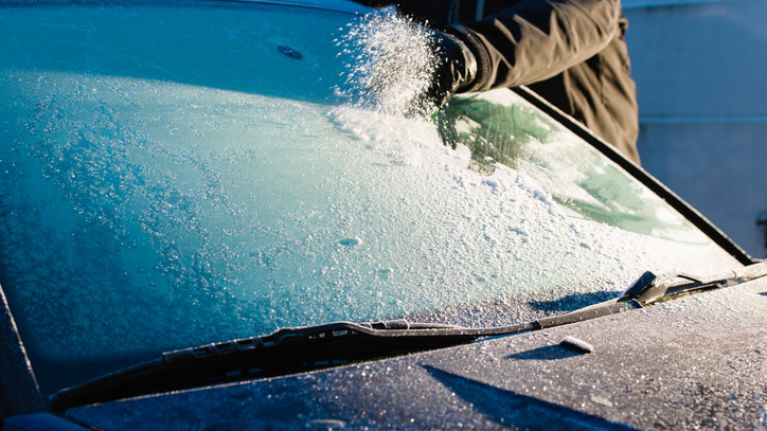 This GENIUS hack for defrosting car windows will honestly change your life
