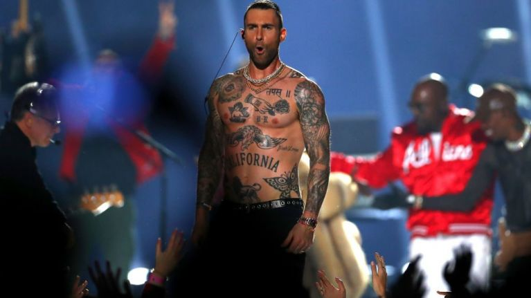 Maroon 5's Super Bowl halftime show is being called 'the worst' in history