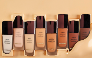 You don't need to use a primer with this fancy new foundation and TELL US MORE