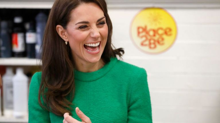Kate Middleton brought a family pic to a show-and-tell with school kids and ah god