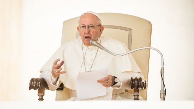 Pope Francis asks church to 'listen to the cry of the little ones seeking justice'