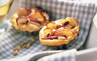 These apple and Parmesan tartlets are the fancy snack you didn't know you needed