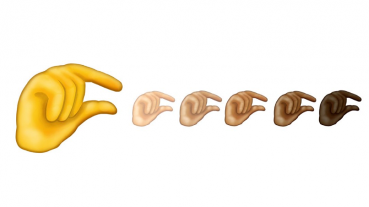 A pinching hand emoji is coming, and yeah, we're all thinking the same thing