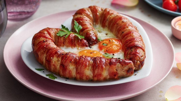 Important: M&S is selling a heart-shaped sausage for Valentine's Day