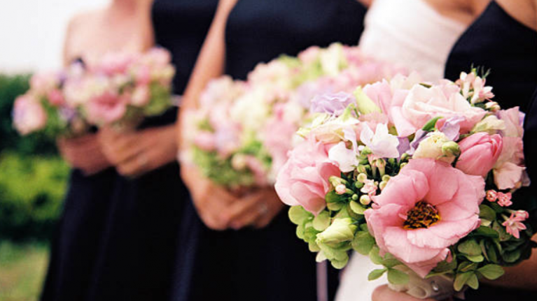 A bride admits to fattening up her bridesmaids on the lead up to her big day