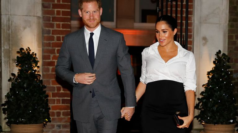 Kensington Palace just made an announcement about Harry and Meghan and it's pretty surprising