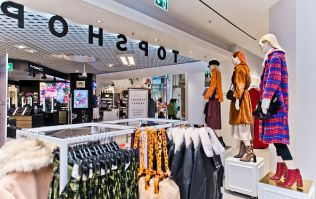 This Topshop coat is now less than half price and it actually looks designer