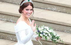 Princess Eugenie just shared a previously unseen photo from her wedding and oh WOW