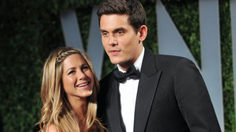 John Mayer got in a pretty nasty dig at Jennifer Aniston after they broke up