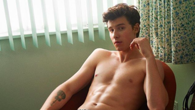 Shawn Mendes is the new face of Calvin Klein, and the THIRST is so real