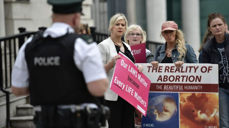 Urgent call for safety zone legislation to stop harassment of women seeking abortions