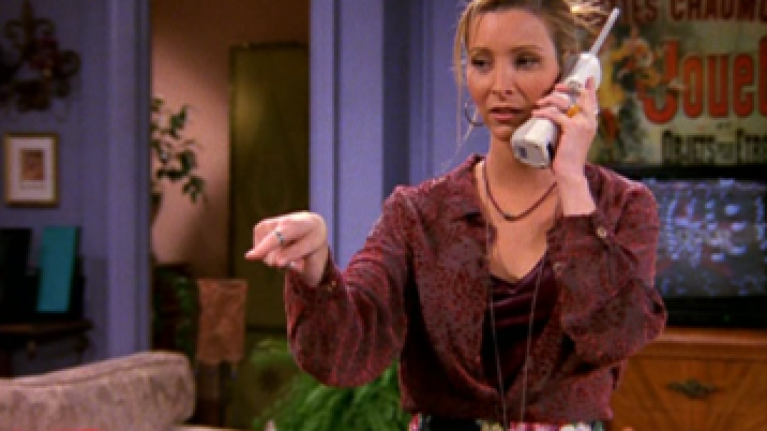 Friends fans have noticed a major error when Phoebe was on hold for two days