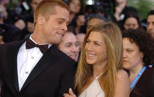 Brad Pitt attended Jennifer Aniston's 50th birthday party last night