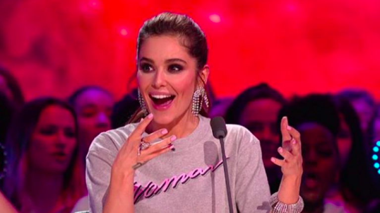 """Liam Payne """"rang"""" Cheryl during The Greatest Dancer last night and her reaction was priceless"""