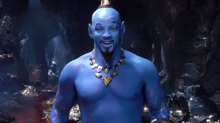 Everyone's saying the same thing about Will Smith as the genie in Aladdin