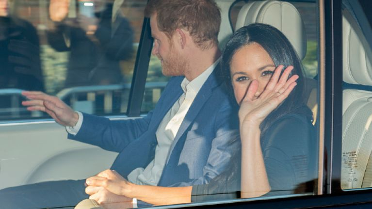 Meghan Markle reportedly threw an ice cream party for all the staff at Kensington Palace
