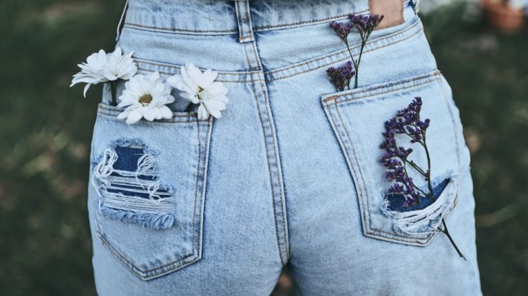 There's a DIY denim workshop happening in Dublin soon to jazz up your old jeans