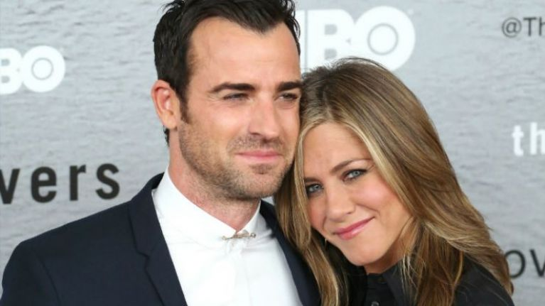 Justin Theroux just shared the sweetest birthday message for Jennifer Aniston