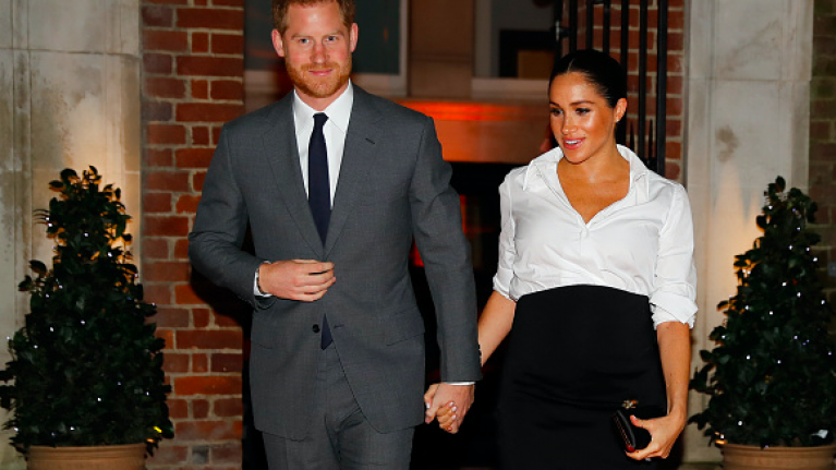 Prince Harry had the CUTEST reaction when he first saw a photo of Meghan Markle