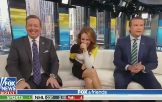 Fox News political analyst claims that germs don't exist live on air