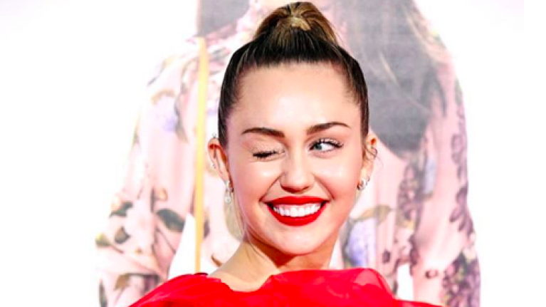 Miley Cyrus went to Liam's premiere instead of him and made a VERY cheeky remark about her hubby