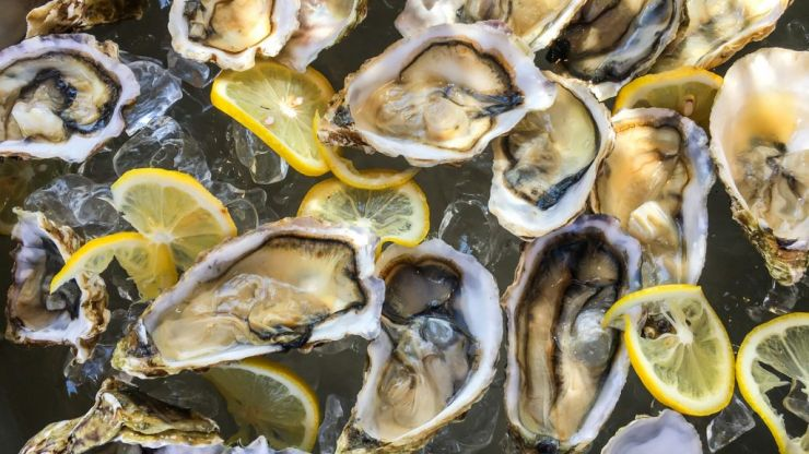 Oyster and champagne ice cream is a thing and you can get some in Dublin for Valentine's Day