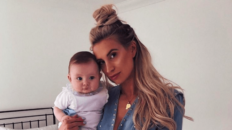 Ferne McCann literally can't cope watching her daughter take her first steps
