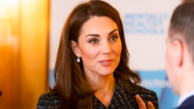 ASOS is selling a tweed co-ord just like the one Kate Middleton was wearing today