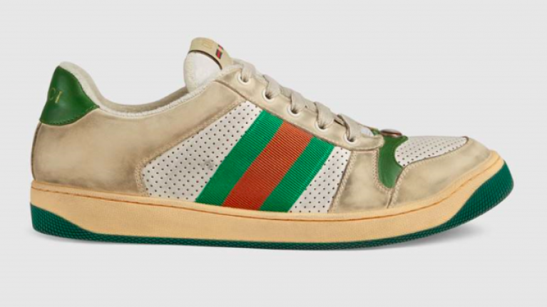 So, Gucci is selling a pair of filthy runners for a casual €690