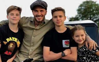 You will LAUGH when you see how David Beckham drops his sons to school every day