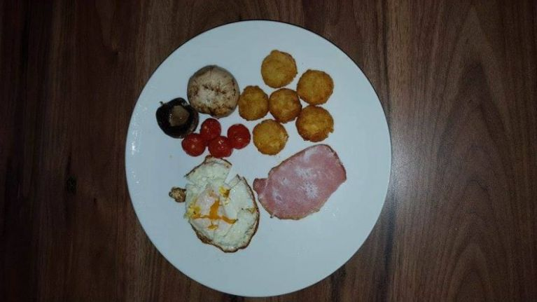 Another person shares 'fully loaded' breakfast and gets absolutely TORN apart