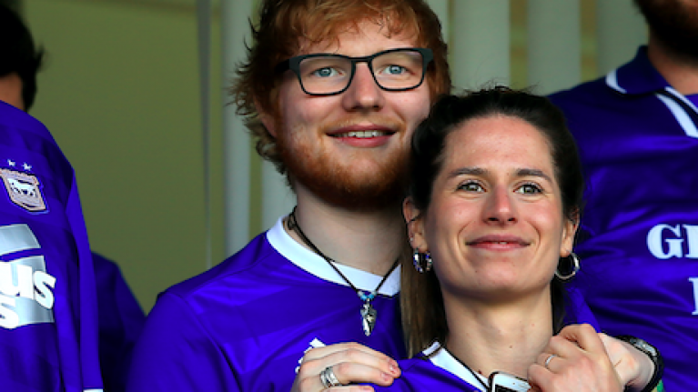 Ed Sheeran and Cherry Seaborn have reportedly gotten married