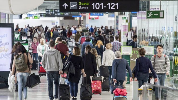 Dublin Airport release a statement about people sleeping on the ground overnight