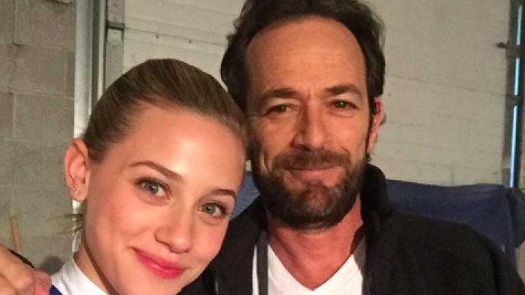 Riverdale's Lili Reinhart pays tribute to Luke Perry with a heartbreaking post