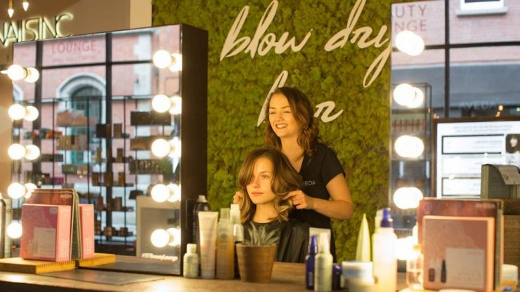 Brown Thomas is offering free beauty treatments for International Women's Day
