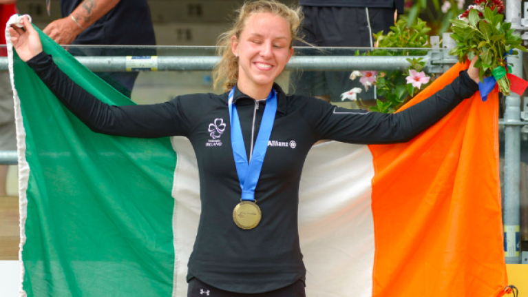 This woman became an Irish citizen to represent us at the Paralympics and we are not worthy!
