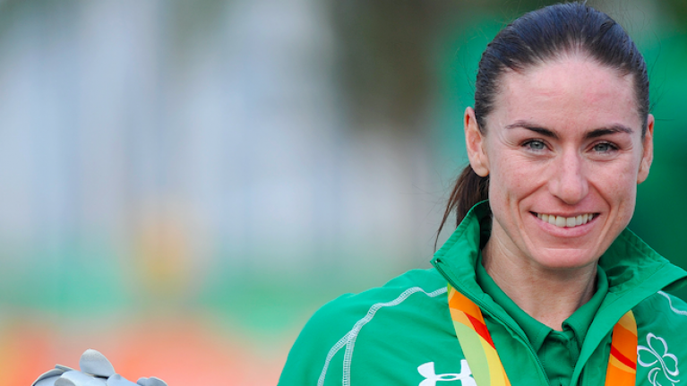 Irish Paralympian Eve McCrystal on the advice she would give young girls thinking of taking up a sport