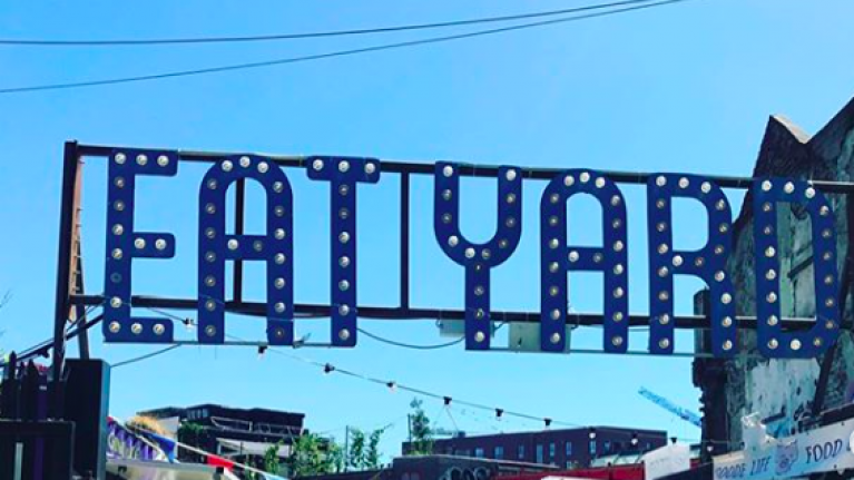 The Eatyard is BACK next week and there's a seriously exciting new addition