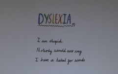 This 10-year-old girl's clever poem about being dyslexic is going viral