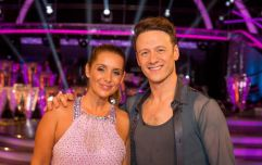 Strictly's Kevin Clifton has commented on those Louise Redknapp romance rumours